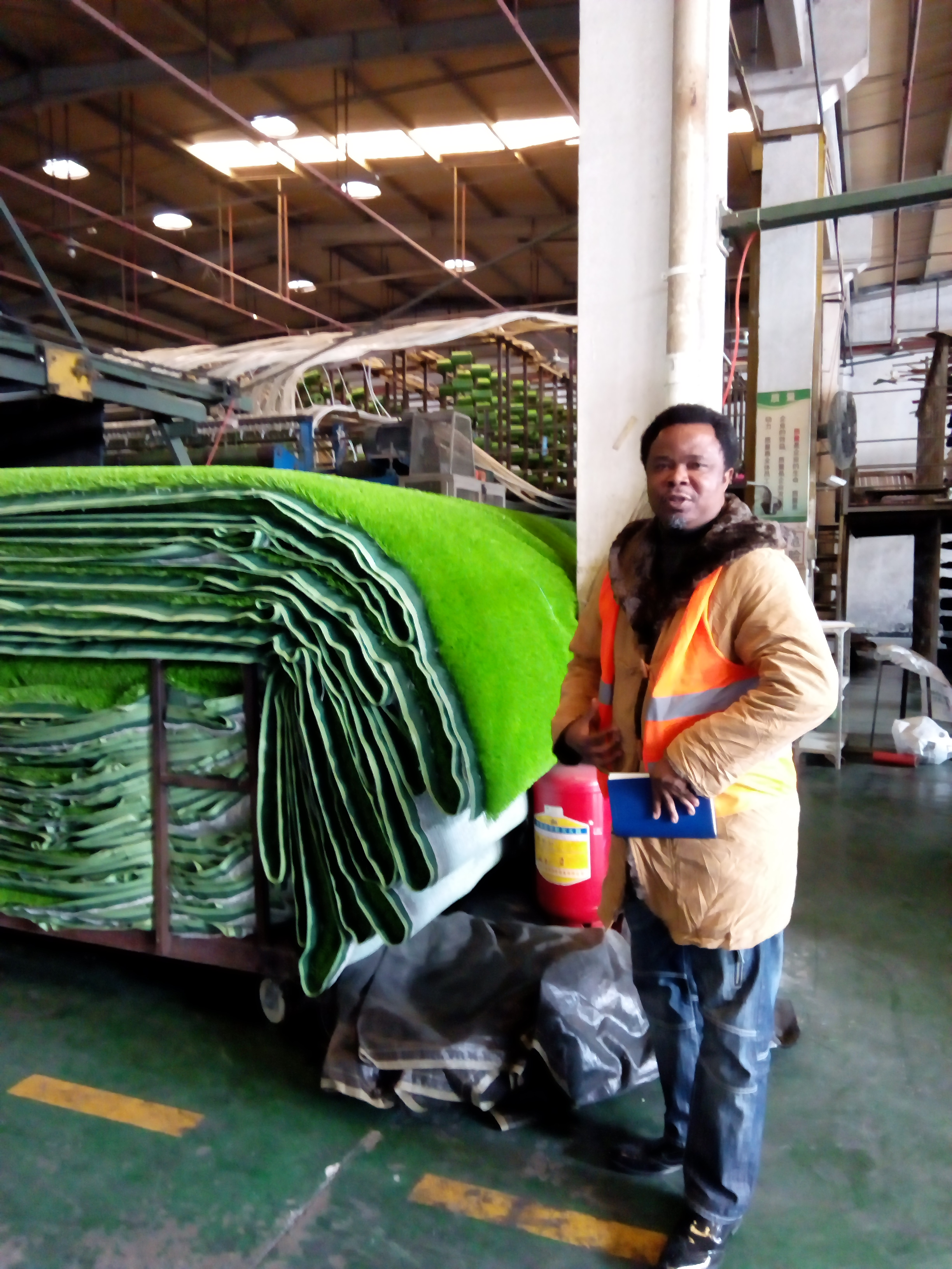 Nigeria's Number one major importer of artificial/synthetic grass/turf. ( CHINA TOUR)
