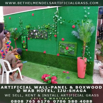 Artificial Carpet Grass for wall